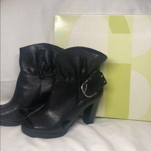 Brand New Gianni Bini Black Leather Booties